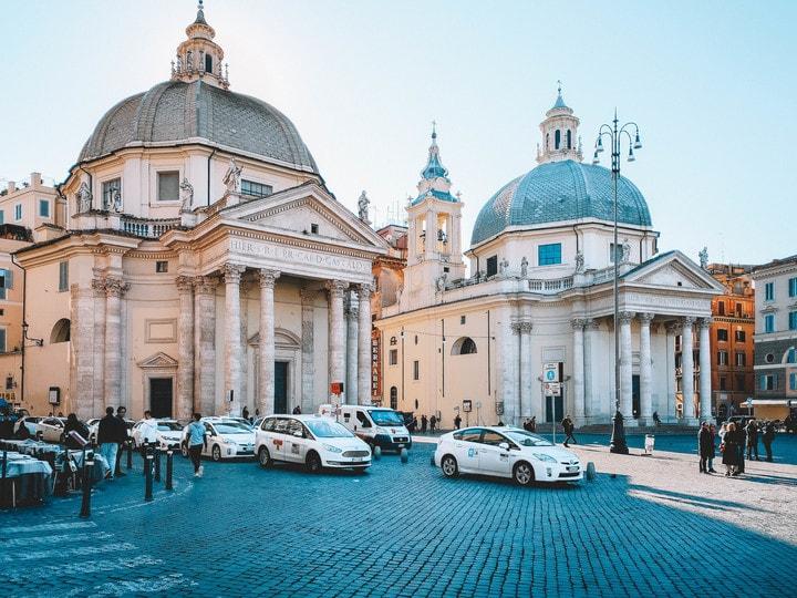 visitar roma, piazza del popolo
