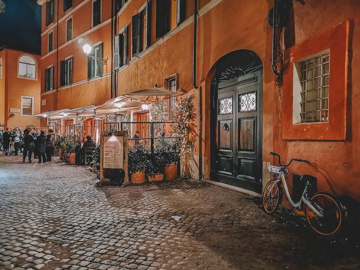 visitar roma, trastevere
