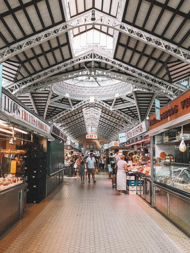 o que visitar em valencia, mercado central