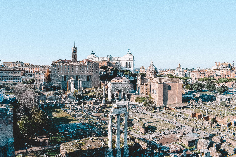 monte palatino, visitar roma