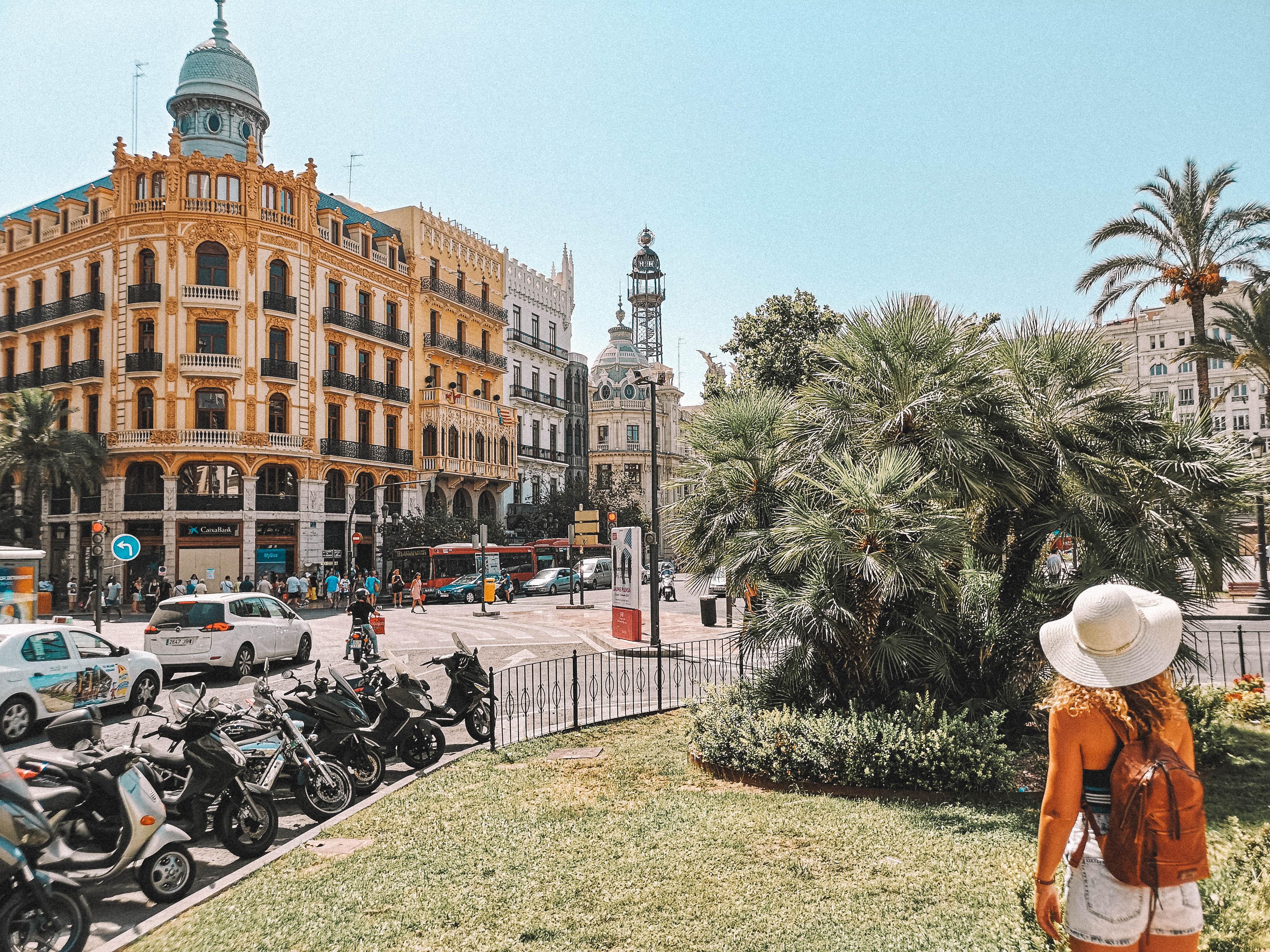 o que visitar em valencia, Praça de L' ajuntament