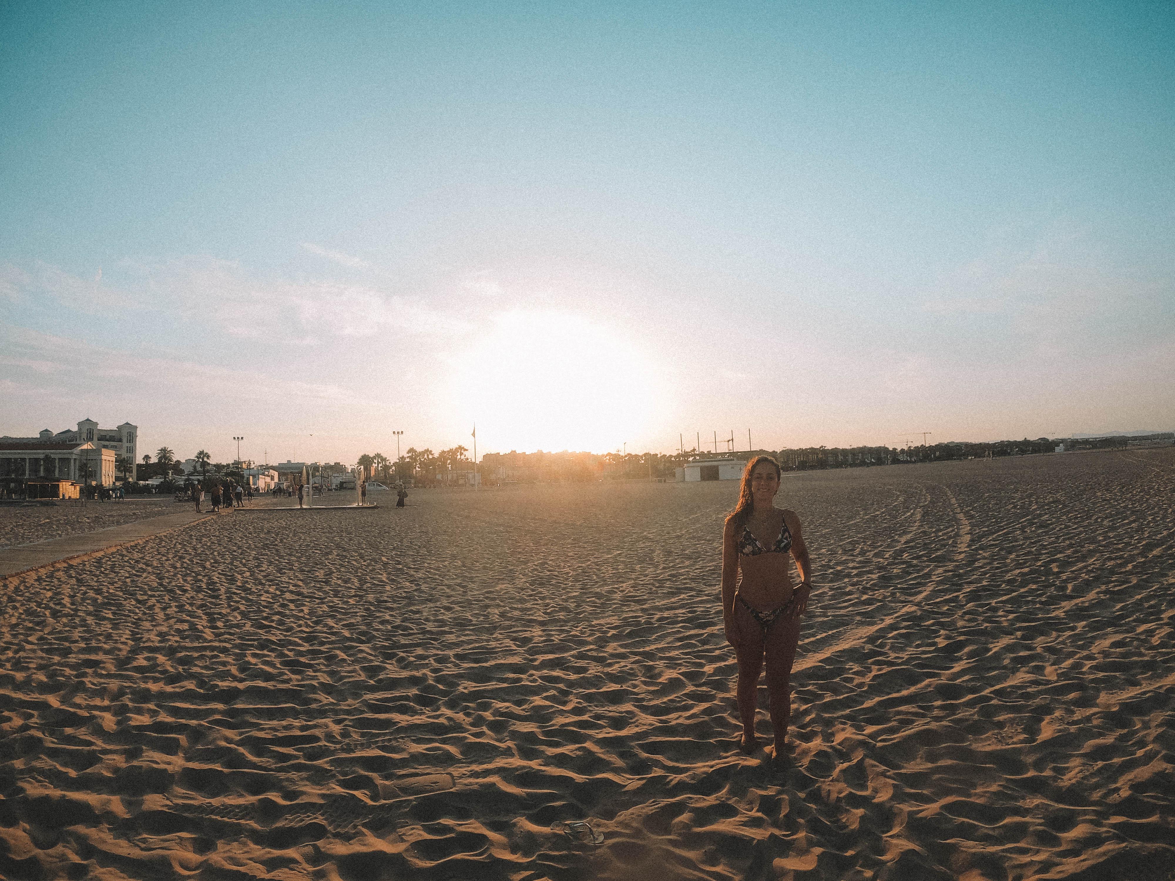 o que visitar em valencia, Praia de Canabyal